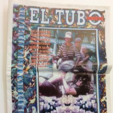 Revistas de música: EL TUBO PERIÓDICO MUSICAL EUSKADI NÚMERO 58 RED HOT CHILLI PEPPERS. Lote 86352404