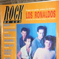 Revistas de música: ROCK DE LUX Nº 47. RONALDOS, NACHA POP, U2, KEITH RICHARDS, DANZA INVISIBLE, TRUMAN CAPOTE. Lote 86489784