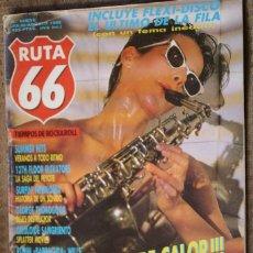 Revistas de música: RUTA 66 Nº 9. GEORGE THOROGOOD, HARLEY DAVIDSON, SMALL FACES, KINKS, RAMONES, BOB SEGER, LOU REED, L. Lote 87010184