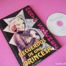 Revistas de música: LIBRO MEMORIAS DE UNA PRINCESA, MARTA SANCHEZ + REGALO CD SINGLE QUE HARAS TU ( OLE OLE ). Lote 87248320