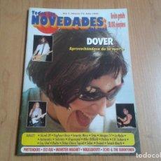 Revistas de música: REVISTA TODAS LAS NOVEDADES - Nº 72 JULIO 1999 - DOVER, SKAPARAPID, BRUCE SPRINSTEEN, ROLLING STONES. Lote 87657260
