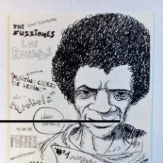 Revistas de música: EMBAJADA LIBIA Nº 1 (SESTAO 1988) FANZINE ORIGINAL: THE POGUES RONALDOS FUZZTONES COMICS. Lote 88091868