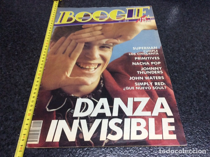 REVISTA BOOGIE Nº 2 , 3 NOVIEMBRE 1988 - DANZA INVISIBLE, SIMPLY RED, NACHA POP, (Música - Revistas, Manuales y Cursos)