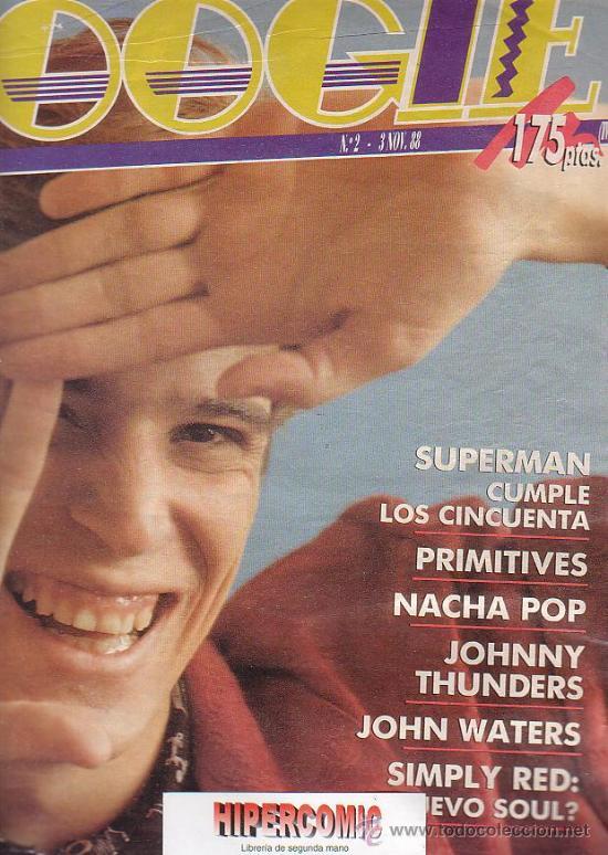 Revistas de música: REVISTA BOOGIE Nº 2 , 3 NOVIEMBRE 1988 - DANZA INVISIBLE, SIMPLY RED, NACHA POP, - Foto 2 - 37206306