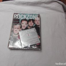 Revistas de música: ROCKZONE Nº 12,CON CD,SIMPLE PLAN, IN FLAMES,THE USED YELLOWCARD, POP POLLS. Lote 89045392