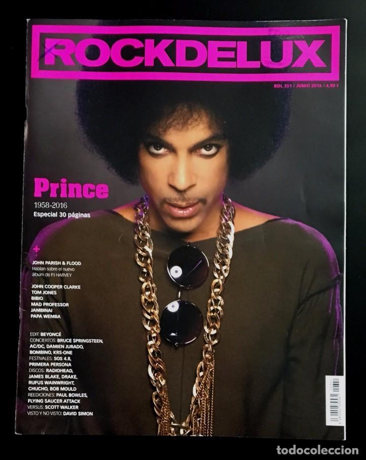ROCKDELUX - Nº 351 - 2016 - PRINCE (Música - Revistas, Manuales y Cursos)