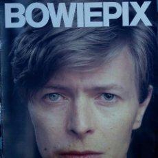 Revistas de música: DAVID BOWIE. BOWIEPIX. LIBRO REVISTA DEDICADA A BOWIE CON PÓSTER GIGANTE, EDICICIÓN INGLESA, UK. Lote 89726148