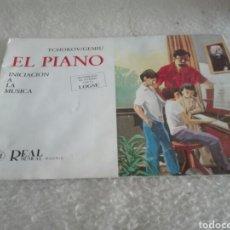 Revistas de música: REVISTA MUSICAL EL PIANO. Lote 89857323