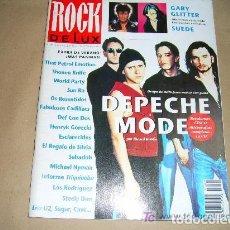 Revistas de música: ROCK DE LUZ Nº 99 JULIO-AGOSTO 1993, DEPECHE MODE, SUEDE.... Lote 91433345