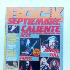 Revistas de música: REVISTA ROCK ESPEZIAL Nº 37 AC/DC IRON MAIDEN NEW ORDER RICHMAN THUNDERS EXPLOITED. Lote 91717685