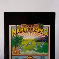 Revistas de música: THE BEST OF THE MAMAS AND THE PAPAS GREATEST 20 HITS. Lote 92114735