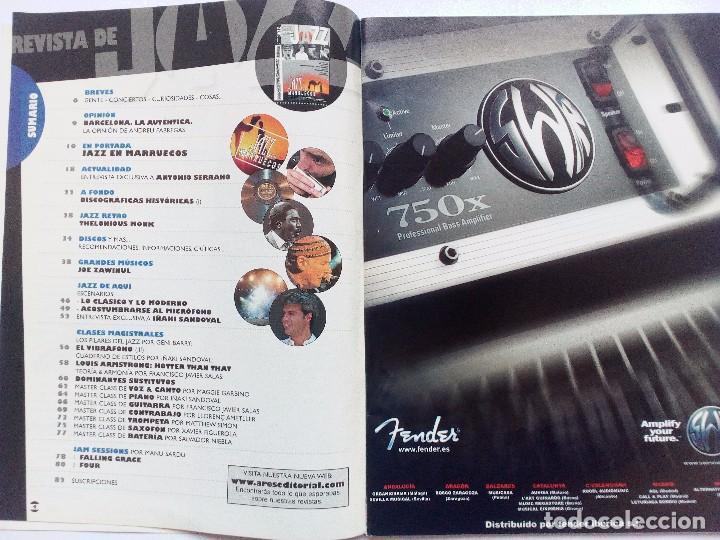 Revistas de música: REVISTA DE JAZZ Nº 11 (2004) JAZZ EN MARRUECOS MASTER CALSS ANTONIO SERRANO/IÑAKI SANDOVAL - Foto 2 - 93157545