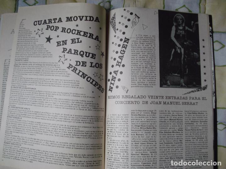 Revistas de música: REVISTA CITA EN SEVILLA, N 5 , SEMANA DEL 8 AL 14 DE JUNIO 1984 JOAN MANUEL SERRAT - Foto 5 - 93821015