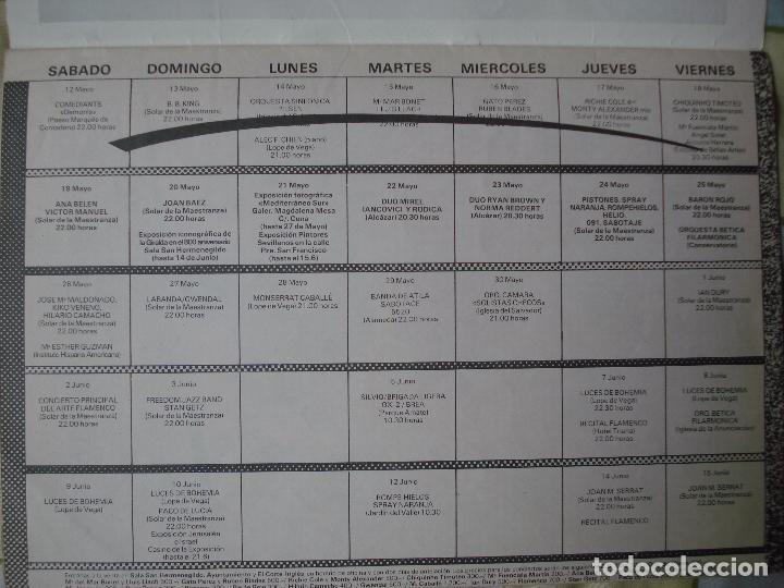 Revistas de música: REVISTA CITA EN SEVILLA, N 2 , SEMANA DEL 18 AL 24 DE MAYO 1984 JOAN BAEZ - Foto 3 - 93821765