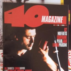 Revistas de música: REVISTA 40 MAGAZINE - Nº 39 - HEVIA, LOS PLANETAS, AMARAL, LAURA PAUSINI - COMO NUEVA. Lote 94001650