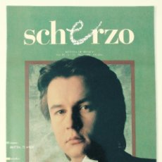 Revistas de música: SCHERZO - REVISTA DE MUSICA - N 24 - AÑO III- MAYO 1988. Lote 94343798