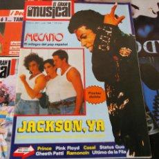 Revistas de música: REVISTA EL GRAN MUSICAL - Nº 293 - 1988 - MECANO, MICHAEL JACKSON - GRAN POSTER MECANO Y JACKSON. Lote 95061507