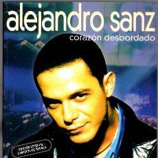 Revistas de música: ALEJANDRO SANZ. CORAZÓN DESBORDADO. Lote 98017726