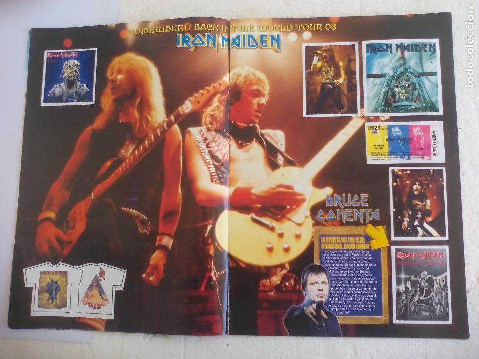 Revistas de música: Iron Maiden. Official tour 08 2008 Sticker album de pegatinas. Metal Hammer - Foto 4 - 95283667