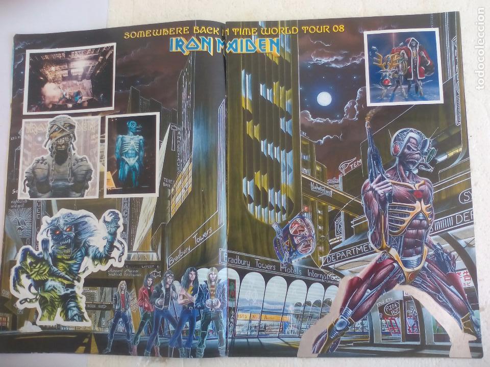 Revistas de música: Iron Maiden. Official tour 08 2008 Sticker album de pegatinas. Metal Hammer - Foto 5 - 95283667