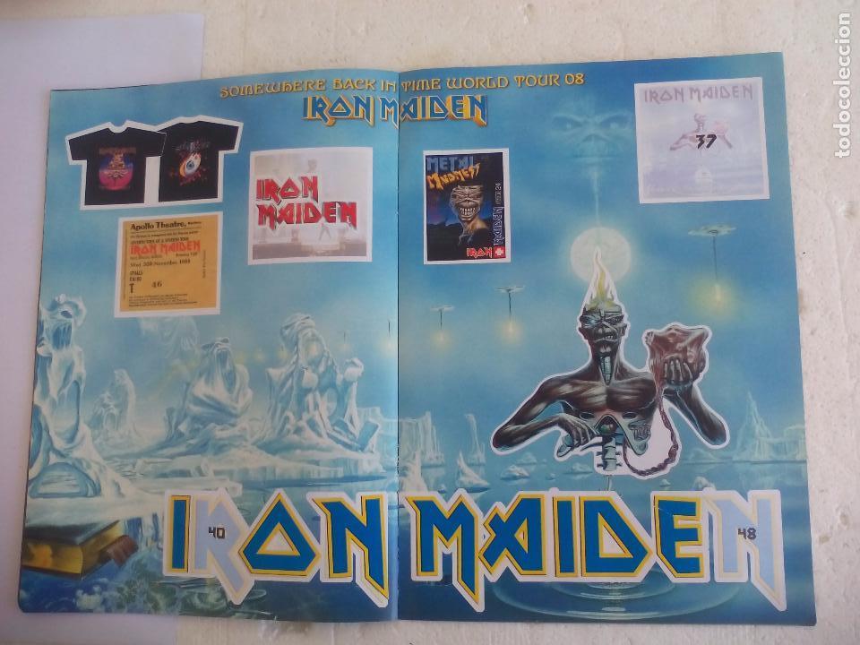 Revistas de música: Iron Maiden. Official tour 08 2008 Sticker album de pegatinas. Metal Hammer - Foto 7 - 95283667