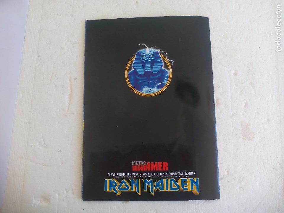 Revistas de música: Iron Maiden. Official tour 08 2008 Sticker album de pegatinas. Metal Hammer - Foto 11 - 95283667