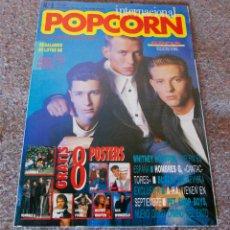 Revistas de música: REVISTA POPCORN - Nº 8 - 8 POSTER DE PET SHOP BOYS, WHITNEY HOUSTON, HOMBRES G, BROS.ETC - EXCELENTE. Lote 95414211