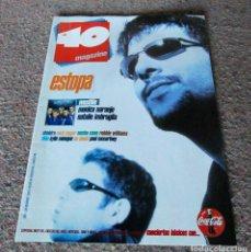 Revistas de música: REVISTA 40 MAGAZINE - Nº 51 - ESTOPA, MONICA NARANJO, WESTLIFE - COMO NUEVA. Lote 95488395