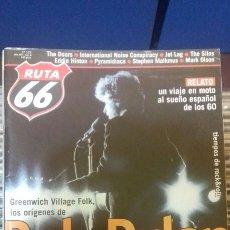 Revistas de música: REVISTA MAGAZINE RUTA 66 N° 171 BOB DYLAN. Lote 95715970