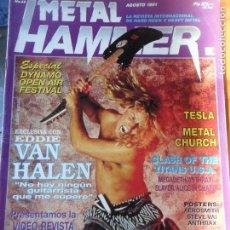 Revistas de música: METAL HAMMER Nº 45 1991- VAN HALEN, TESLA, POSTMORTEM, SARAYA, LISA DOMINIQUE..... Lote 95725331