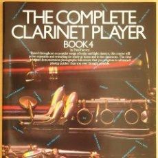 Revistas de música: PAUL HARVEY: THE COMPLETE CLARINET PLAYER - BOOK 4. Lote 95887975