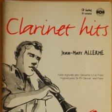 Revistas de música: ALLERME: CLARINET HITS (CD INCLUIDO). Lote 95888431