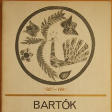 Revistas de música: BARTOK: RAPSODIA PARA PIANO OP. 1. Lote 95888743