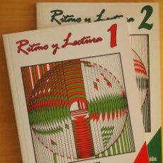 Revistas de música: LÓPEZ DE ARENOSA: RITMO Y LECTURA 1 Y 2. Lote 95889591