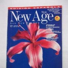 Revistas de música: REVISTA NEW AGE MUSIC AND NEW SOUNDS. AÑO II. Nº 8. SIN CD. TDKR40. Lote 96603267