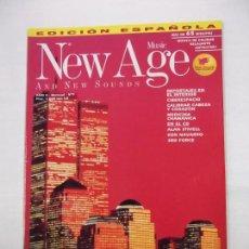 Revistas de música: REVISTA NEW AGE MUSIC AND NEW SOUNDS. AÑO II. Nº 9. SIN CD. TDKR40. Lote 96603298