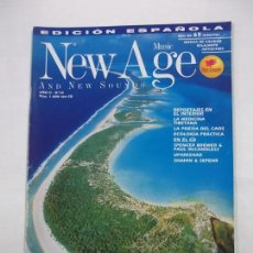 Revistas de música: REVISTA NEW AGE MUSIC AND NEW SOUNDS. AÑO II. Nº 10. SIN CD. TDKR40. Lote 96603335