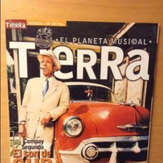 Revistas de música: TIERRA. EL PLANETA MUSICAL. Nº 1 EL SON DE CUBA. SEGUNDO COMPAY. CUARTETO PATRIA. Lote 96875719