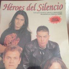 Revistas de música: LIBRO HÉROES DEL SILENCIO. COLECCIÓN IMÁGENES DE ROCK. PATRICIA GODES. BUNBURY. Lote 97122134