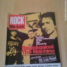 Magazines de musique: ROCK DE LUX, NUM 130, MAYO 1996, RAGE AGAINST THE MACHINE, TORTOISE, ETC. Lote 97197147