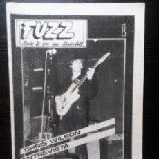 Revistas de música: FUZZ FANZINE ORIGINAL Nº 1 MADRID 1985 BARRACUDAS ENTREVISTA A CHRIS WILSON . Lote 97225787