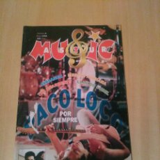 Magazines de musique: ASTUR MUSIC, NUM 4, MAYO 1995, PACO LOCO, AVALANCH, THE HEARBEATS, LLAN DE CUBEL, ETC. Lote 234553630