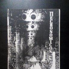 Revistas de música: NECRONOMICON FANZINE ORIGINAL Nº 1 (CIUDAD REAL) ESPLENDOR GEOMÉTRICO, HET ZWEET, INTERACCIÓN. Lote 97260255