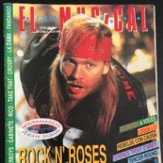 Revistas de música: REVISTA EL GRAN MUSICAL Nº 390 DE 1993 GUNS N' ROSES U2 LOQUILLO. Lote 97500471