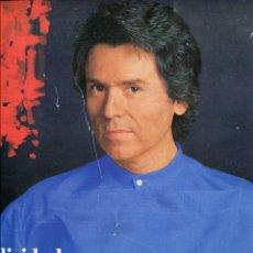 Revistas de música: RAPHAEL (LIBRETO TOUR MUNDIAL 35 ANIVERSARIO) 10 HOJAS TAMAÑO LP EN CARTONE. Lote 97703727