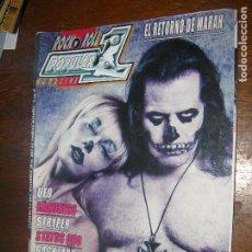 Revistas de música: (F.1) REVISTA MUSICAL POPULAR 1 Nº504 (CATHY CLARET,STRYPER,THE BURNING CROWS). Lote 98107175