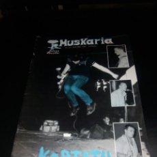 Revistas de música: MUSKARIA Nº 25 -1985/ KORTATU -LA POLLA RECORDS -VULPESS. Lote 98227503