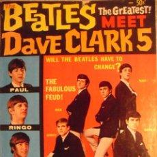 Revistas de música: REVISTA MONOGRÁFICA ''THE BEATLES MEET DAVE CLARK 5'' (1964). Lote 98415763