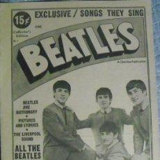 Revistas de música: REVISTA ''THE BEATLES. SONGS THEY SING'' (1964). Lote 98415771
