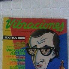 Revistas de música: REVISTA VIBRACIONES N° 63 MAGAZINE WOODY ALLEN SUPERTRAMP DEVO B-52'S RAMONCIN NINA HAGEN EAGLES. Lote 98419210